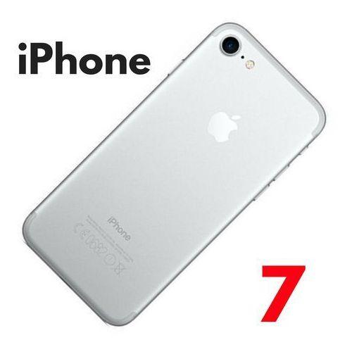 Obudowa tylna klapka iPhone 7+ silver