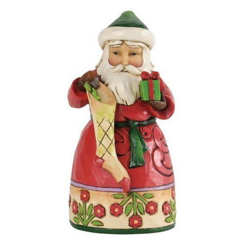 Mikołaj z prezentem (Chrismas Spirit), 4034369 Jim Shore figurka ozdoba świąteczna zawieszka