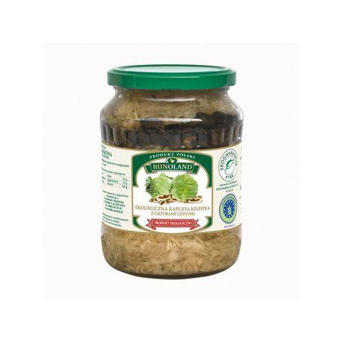 Kapusta kiszona z grzybami leśnymi 700g (5901641001843)