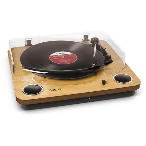 ION MAX LP DREWNO - uniwersalny gramofon z wbudowanymi głośnikami stereo | Zapłać po 30 dniach | Gwarancja 2-lata, MAX LP WD