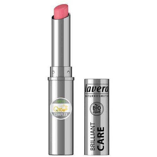 Lavera Brilliant care szminka pielęgnacyjna q10 - 02 różowy truskawkowy 1,7g (4021457627622)