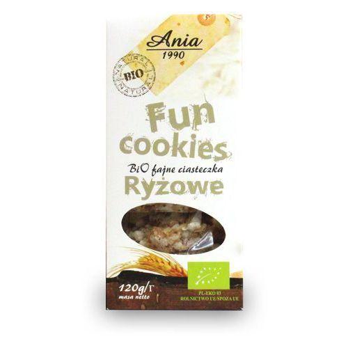 Fun cookies ryżowe 120g BIO, 5903453004722
