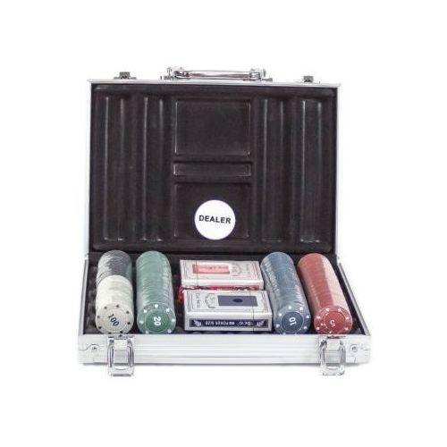 S.t.i. ltd. Zestaw do pokera... (200 żetonów + karty + kości) + aluminiowa walizka...