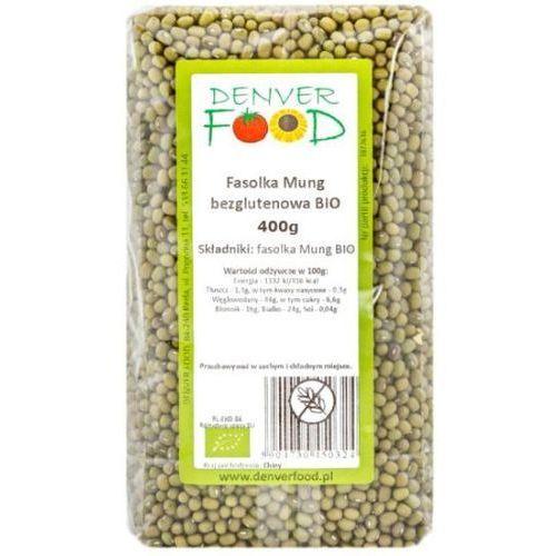 Fasolka Mung Bezglutenowa BIO 400 g Denver Food (5904730450119)