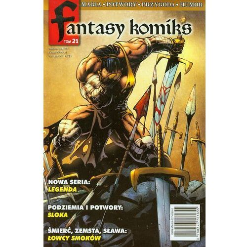 Fantasy Komiks - 21., oprawa miękka