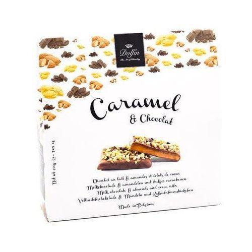 Bombonierka Caramel & Chocolat Migdały z kawałkami kakao Dolfin 200g (5413415912304)