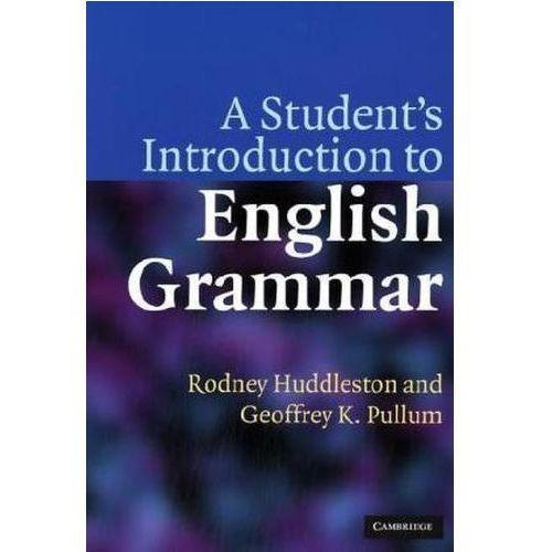 Student's Introduction to English Grammar, Geoffrey K. Pullum