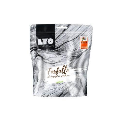 Liofilizat FARFALLE szpinakowo-serowe 126g (na porcję 500g, 534 kcal)