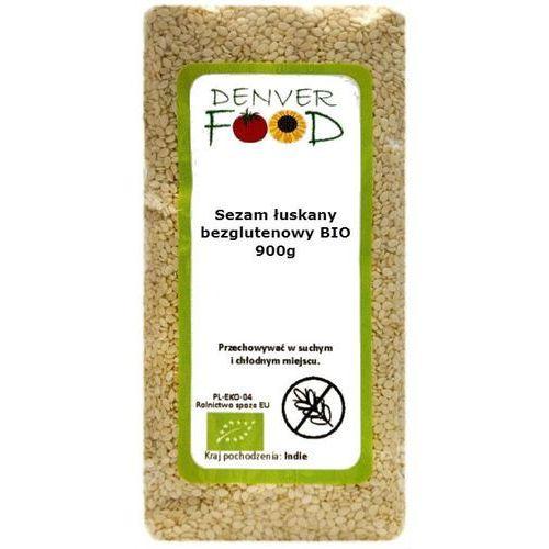 Sezam Łuskany Bezglutenowy BIO 900 g Denver Food