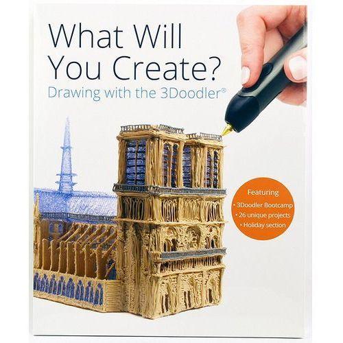 SUNEN 3DOODLER Book - Książka projektów 3D do długopisu 3Doodler (jęz. ang.)