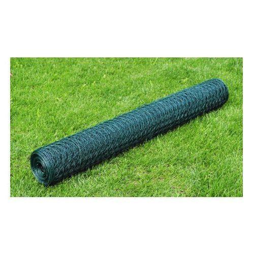Siatka, ogrodzenie (75cm x 25 m), 0,8 mm, kryte PCV. - oferta [05da277e37a1d4fa]