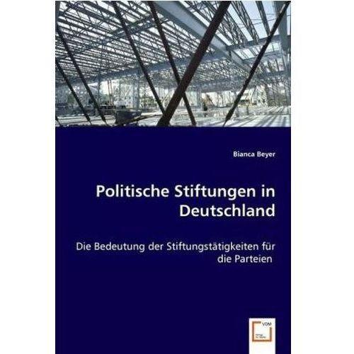 Politische Stiftungen in Deutschland