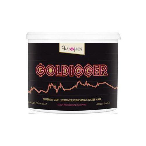 Waxxxpress - Goldigger 400 g - Wosk do depilacji bez użycia pasków - 400 g - oferta [0585e00a316215d4]