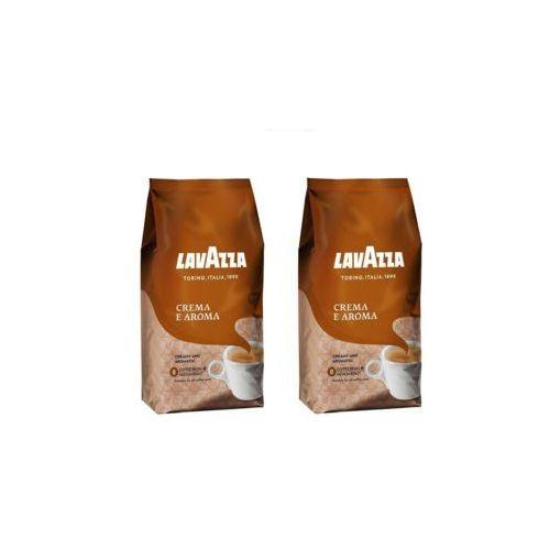 Lavazza Zestaw 2x crema e aroma kawa ziarnista 1kg