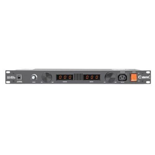 Adam hall parts pcl 10 pro - kondycjoner sieciowy z woltomierzem i amperomierzem, wyświetlaczem i oświetleniem rack