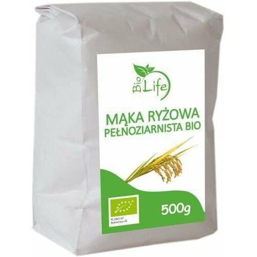 BIOLIFE 500g Mąka ryżowa pełnoziarnista Bio