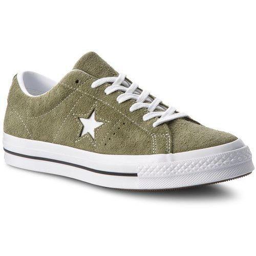Tenisówki CONVERSE - One Star Ox 161576C Field Surplus/White/White