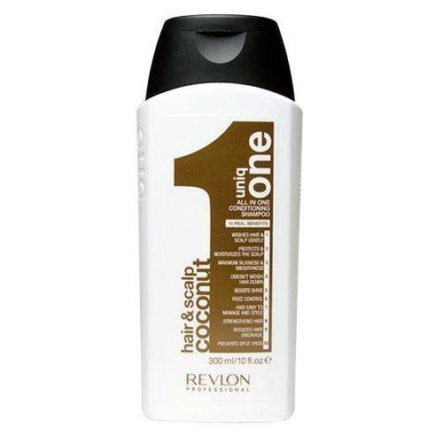 uniq one coconut | odżywczy szampon do włosów 300ml marki Revlon
