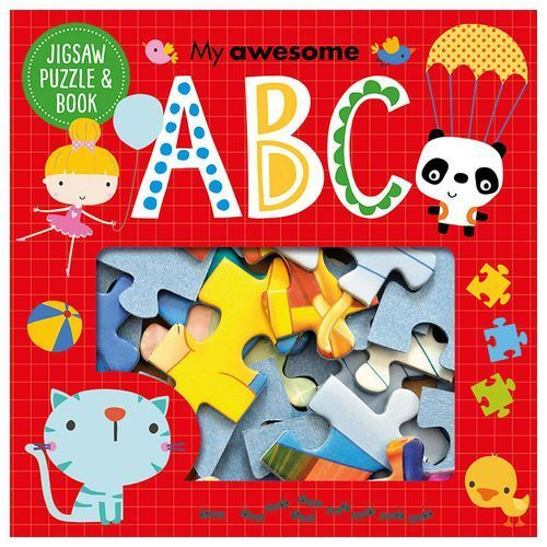 My Awesome ABC Jigsaw and Book Set (9781785989810)