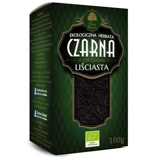Dary natury - herbatki bio Herbata czarna cejlońska liściasta bio 100 g dary natury
