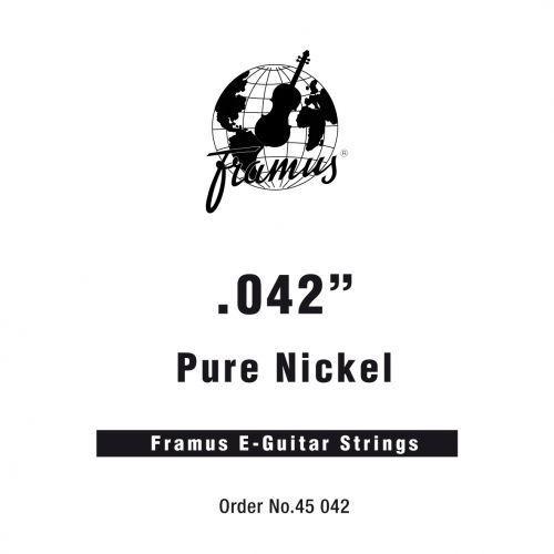 Framus blue label - struna pojedyncza do gitary elektrycznej,.042, wound