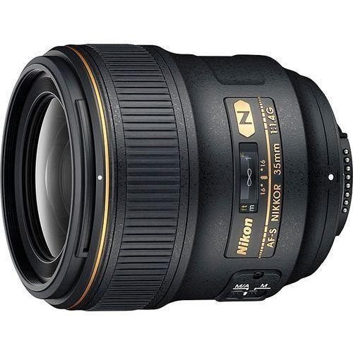 Nikon af-s nikkor 35 mm f/1,4g - produkt w magazynie - szybka wysyłka!