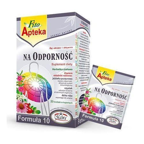 Malwa fito apteka herbata na odporność formuła 10 marki Herbaty malwa