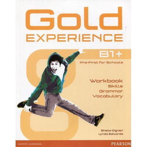Gold Experience Language And Skills Workbook B1+, oprawa miękka