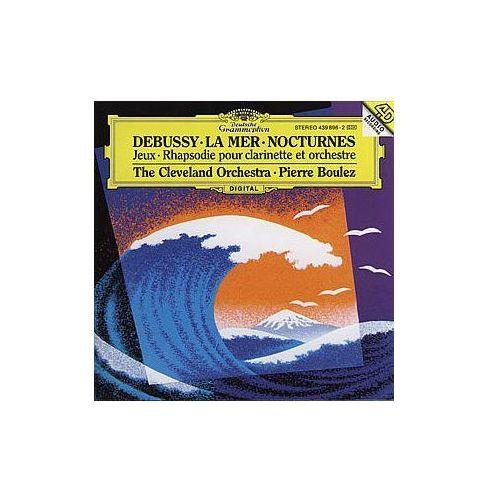 Debussy - La Mer, Nocturnes - Pierre Boulez (Płyta CD) (0028943989626)