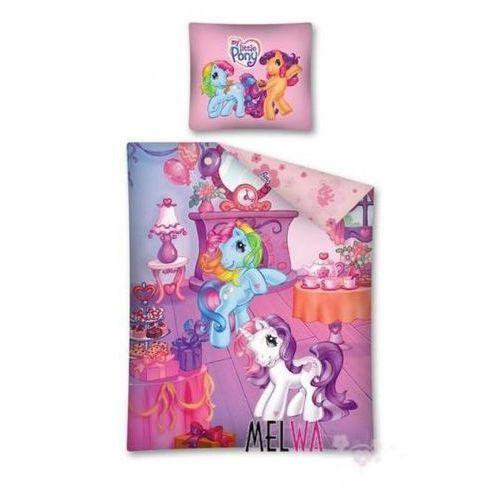 Komplet pościel licencyjna dla dzieci bawełniana My Little Pony 160x200 cm, Detexpol