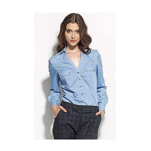 Koszula k44 (niebieski) - oferta [f5a44e701765e4a9]