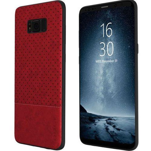 Etui QULT Back Case Drop do Samsung Galaxy S8 Czerwony, kolor czerwony