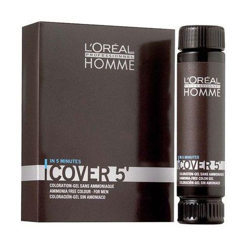 Homme Cover 5 nr 4 - żel do koloryzacji włosów 50ml, Loreal