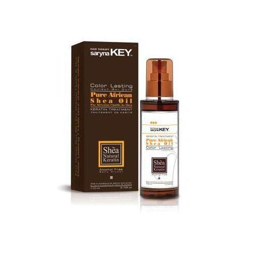 SARYNA KEY Pure African Shea Oil Color Lasting olejek do wlosow farbowanych 110ml z kategorii odżywianie włosów