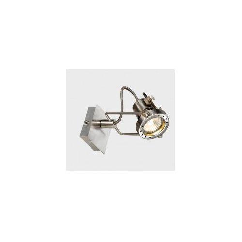 Reflektorek lampa sufitowa robot robot-1sq industrialna oprawa metalowy spot satyna novorio marki Italux