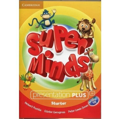 Super Minds Starter Presentation Plus DVD-ROM (Płyta DVD) (9781107441194)