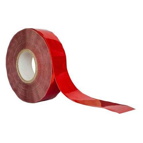 Taśma odblaskowa konturowa czerwona - cała rolka marki Unitrailer