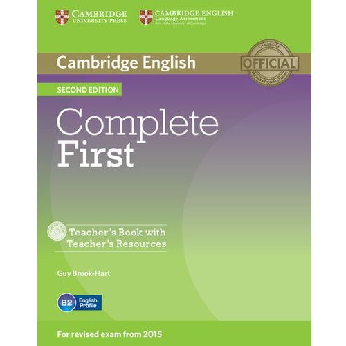 Complete First 2nd Edition. Książka Nauczyciela + CD, Guy Brook-Hart