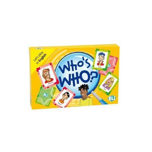 Gra językowa Angielski Who's who's. Opr. karton, ELI