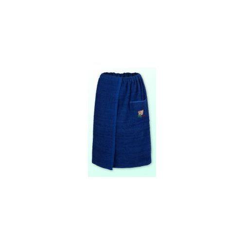 Sauna kilt ręcznik granat 100% bawełna uniwersalny 70*140 z logo, EA89-54323
