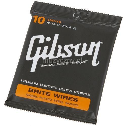 seg-700l brite wires struny do gitary elektrycznej 10-46 marki Gibson
