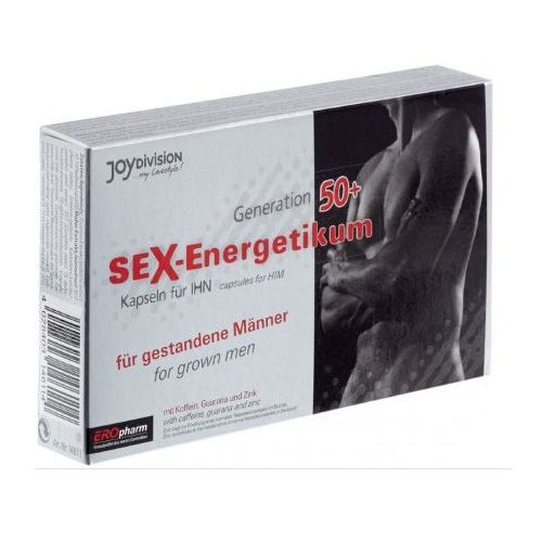 Tabletki na potencję Eropharm Sex-Energetikum 50+ 40szt