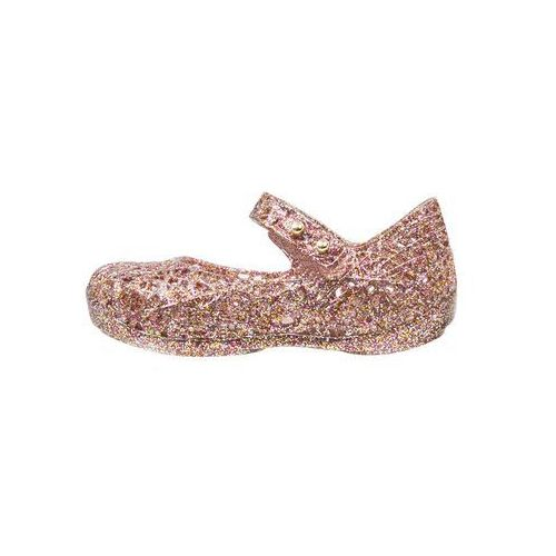 Melissa MINI CAMPANA ZIG ZAG Baleriny z zapięciem rose glitter - oferta [059d207467e136e5]