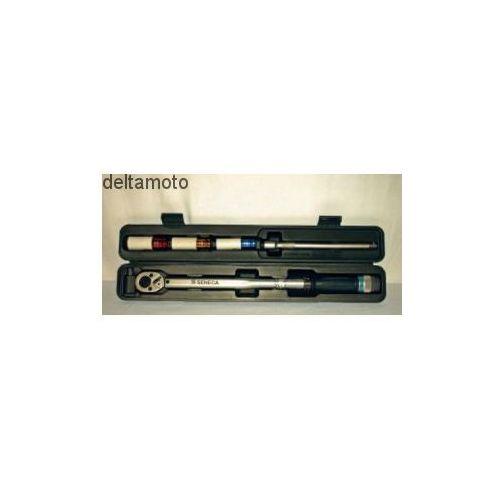 Klucz dynamometryczny ½'' z akcesoriami, produkt marki Seneca