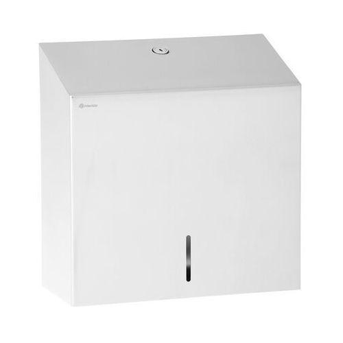 MERIDA - Pojemnik na ręczniki papierowe - 500 szt. - stal nierdzewna ASM101 - 3 LATA GWARANCJI