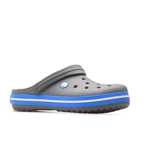 Klapki crocband 11016/07w szare marki Crocs