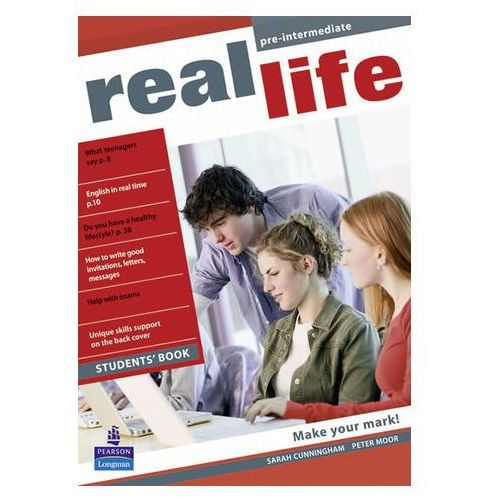Real Life Global Pre-intermediate Students Book (136 str.)
