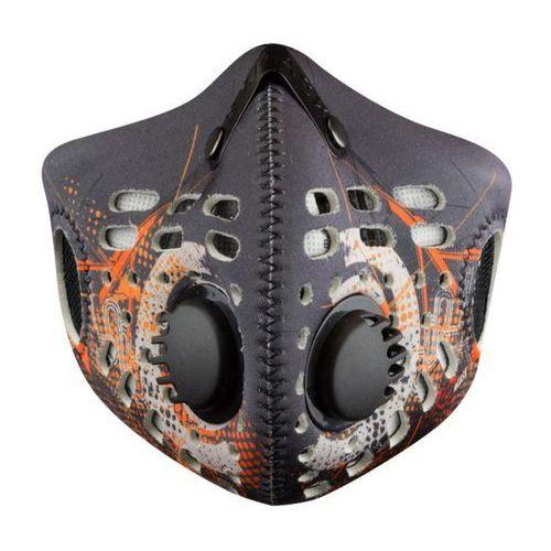 Rz mask Maska antysmogowa i przeciwpyłowa m1 digitech orange l + darmowy transport! (0610373475970)