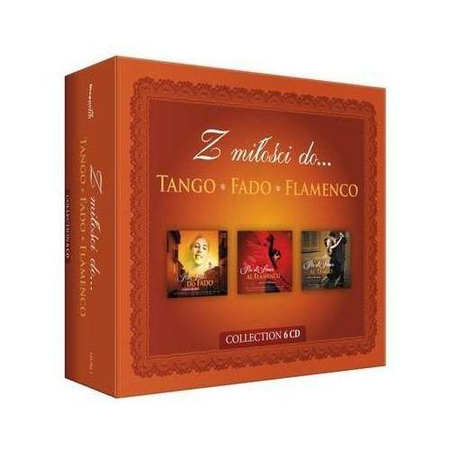Universal music Różni wykonawcy - z miłości do tango, fado, flamenco - box 6cd (0602537210121)