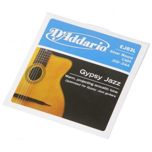 D′addario ej-83l struny do gitary akustycznej gypsy jazz 10-44